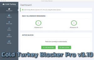 Cold Turkey Blocker Pro v3.10 Torrent
