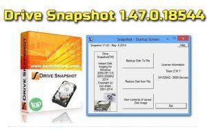 Drive Snapshot 1.47.0.18544