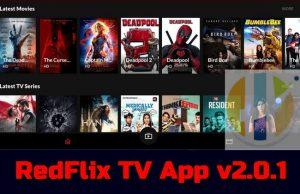 RedFlix TV App v2.0.1 MOD APK
