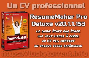 ResumeMaker Pro Deluxe v20.1.1.153 Torrent
