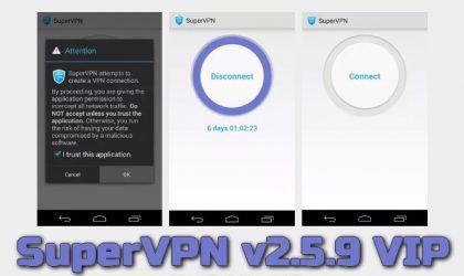 SuperVPN v2.5.9 VIP Torrent