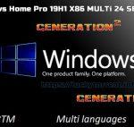 Windows 10 Home Pro 19H1 X86 2019 Torrent