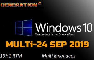 Windows 10 Pro SEP 2019 Torrent