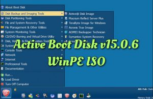 Active Boot Disk v15.0.6 WinPE ISO