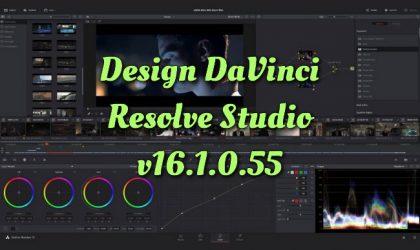 Design DaVinci Resolve Studio v16.1.0.55