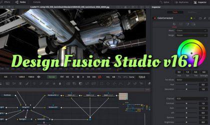 Design Fusion Studio v16.1