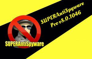 SUPERAntiSpyware Professional v8.0.1046