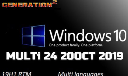 Windows 10 Pro 19H1 X64 MULTi 24 OCT 2019