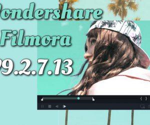 Wondershare Filmora v9.2.7.13