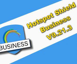 Hotspot Shield Business 9.21.3