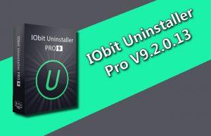 IObit Uninstaller Pro 9.2.0.13