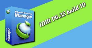 Internet Download Manager IDM 6.35 build 10