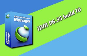 Internet Download Manager IDM 6.35 build 10