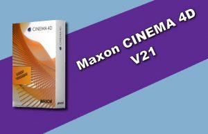 Maxon CINEMA 4D 21 Torrent