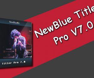 NewBlue Titler Pro 7.0