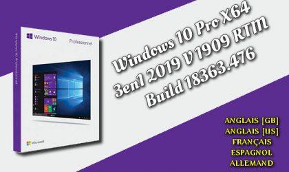 Windows 10 Pro X64 3en1 2019 Torrent