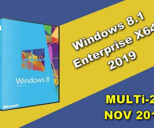 Windows 8.1 Enterprise X64 2019