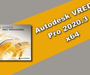 Autodesk VRED Pro 2020.3 x64