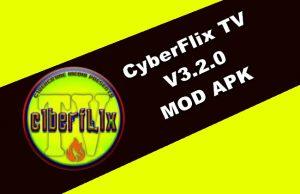 CyberFlix TV v3.2.0 MOD APK
