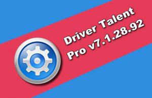 Driver Talent Pro v7.1.28.92