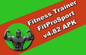 Fitness Trainer FitProSport v4.82 APK