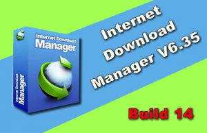 Internet Download Manager 6.35 Build 14