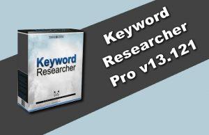 Keyword Researcher Pro v13.121