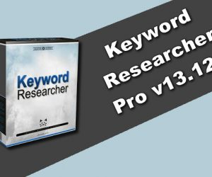 Keyword Researcher Pro v13.121