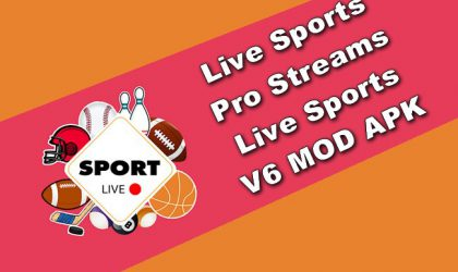 Live Sports Pro Streams Live Sports v6 MOD APK
