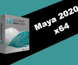 Maya 2020 x64 Torrent