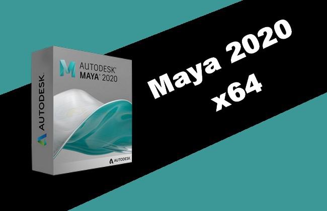 Photo of Maya 2020 x64 Torrent
