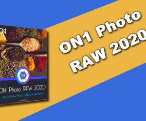 ON1 Photo RAW 2020 Torrent