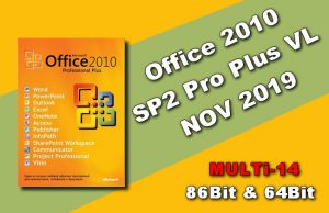 Office 2010 SP2 Pro Plus VL NOV 2019