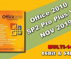 Office 2010 SP2 Pro Plus VL NOV 2019