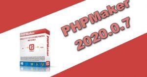PHPMaker 2020.0.7