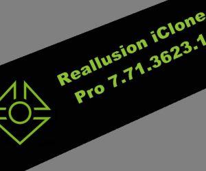 Reallusion iClone Pro 7.71.3623.1