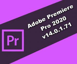 Adobe Premiere Pro 2020 v14.0.1.71 Torrent