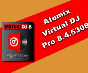 Atomix Virtual DJ Pro 8.4.5308 Torrent
