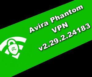 Avira Phantom VPN v2.29.2.24183 Torrent