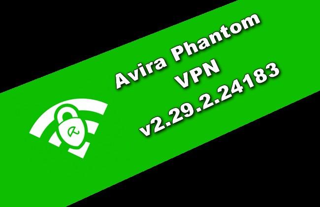Photo of Avira Phantom VPN v2.29.2.24183 Torrent