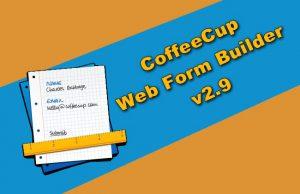 CoffeeCup Web Form Builder v2.9