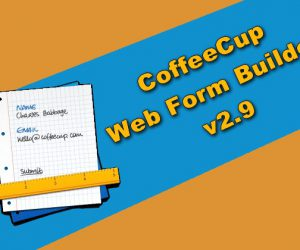 CoffeeCup Web Form Builder v2.9