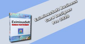 EximiousSoft Business Card Designer Pro 2020