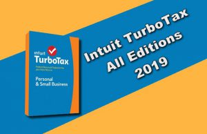 Intuit TurboTax All Editions 2019