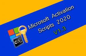 Microsoft Activation Script 1.3