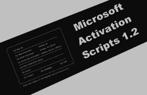 Microsoft Activation Scripts 1.2