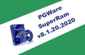 PGWare SuperRam v8.1.20.2020