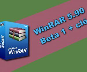 WinRAR 5.90 Beta 1 + clé