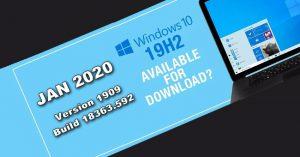 Windows 10 Enterprise X64 JAN 2020