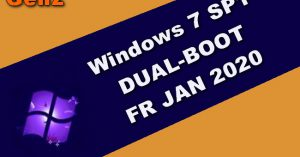 Windows 7 SP1 DUAL-BOOT FR JAN 2020
